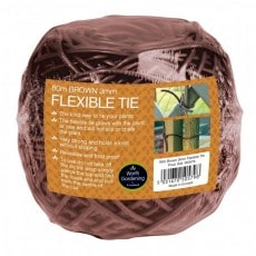Bindtråd Garland Flexible Tie 80m Brun