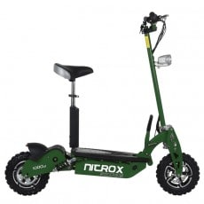 Elscooter Rull 1000 W 48V Dirt Med Lysen ARMY GREEN