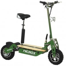 Elscooter Rull 2000W 60V Dirt ARMY GREEN
