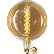 Lampa LED Star Trading E27 G200 Industrial Vintage Amber