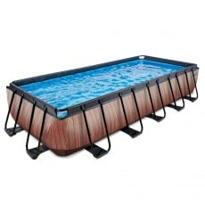 Pool EXIT Frame Premium 5.4x2.5x1m Timber Style