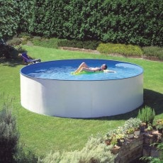 Poolset Clear Pool Ancona Rund Ø450 Djup 120 cm