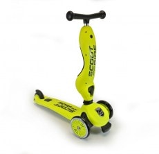 Sparkcykel Scoot & Ride Med Sadel Lime
